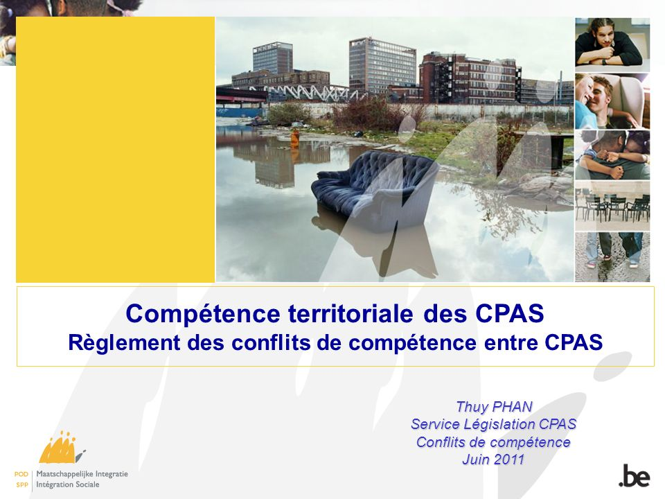 Compétence territoriale des CPAS