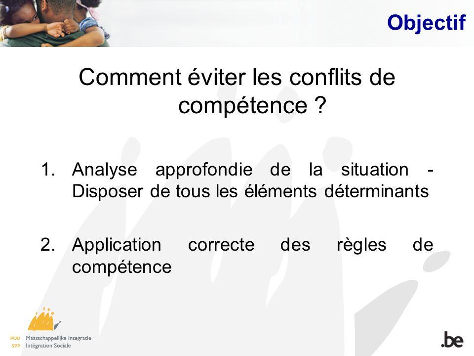 Comment éviter les conflits de compétence