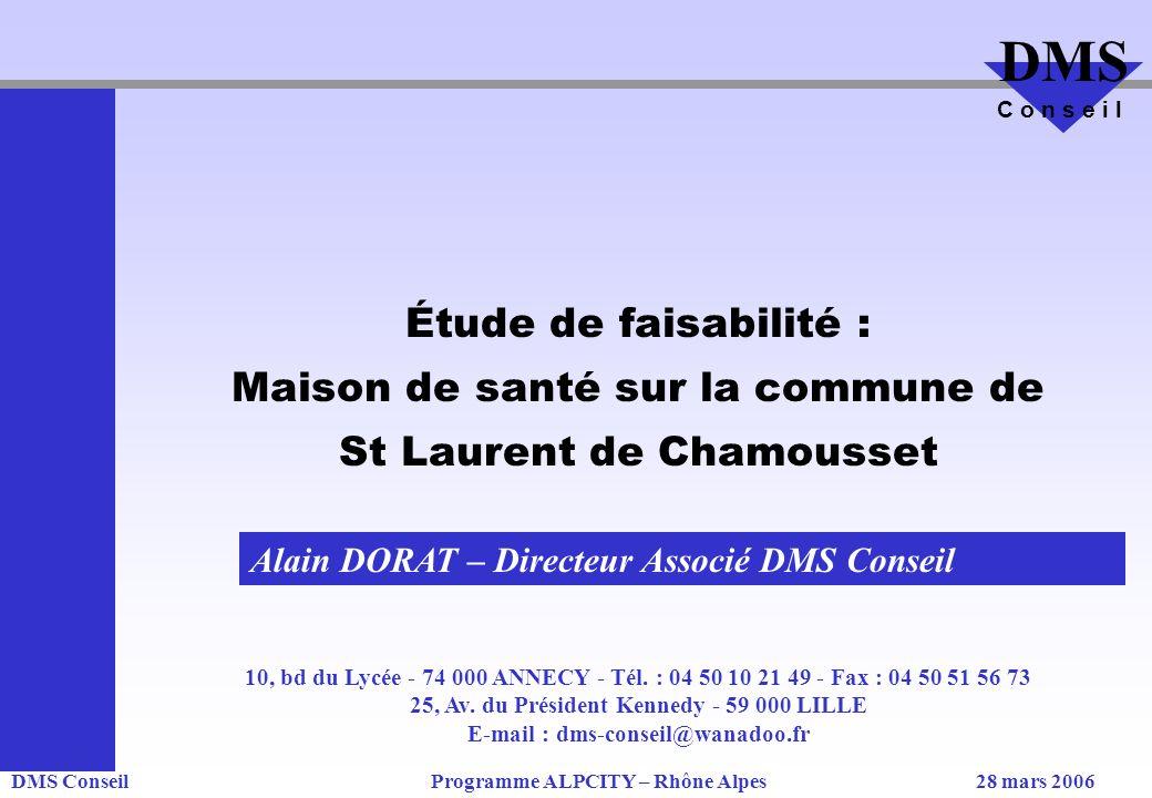 Maison de santé sur la commune de St Laurent de Chamousset