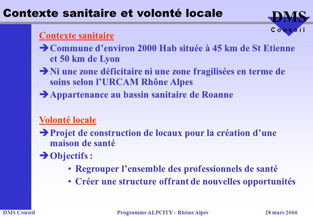 Contexte sanitaire et volonté locale