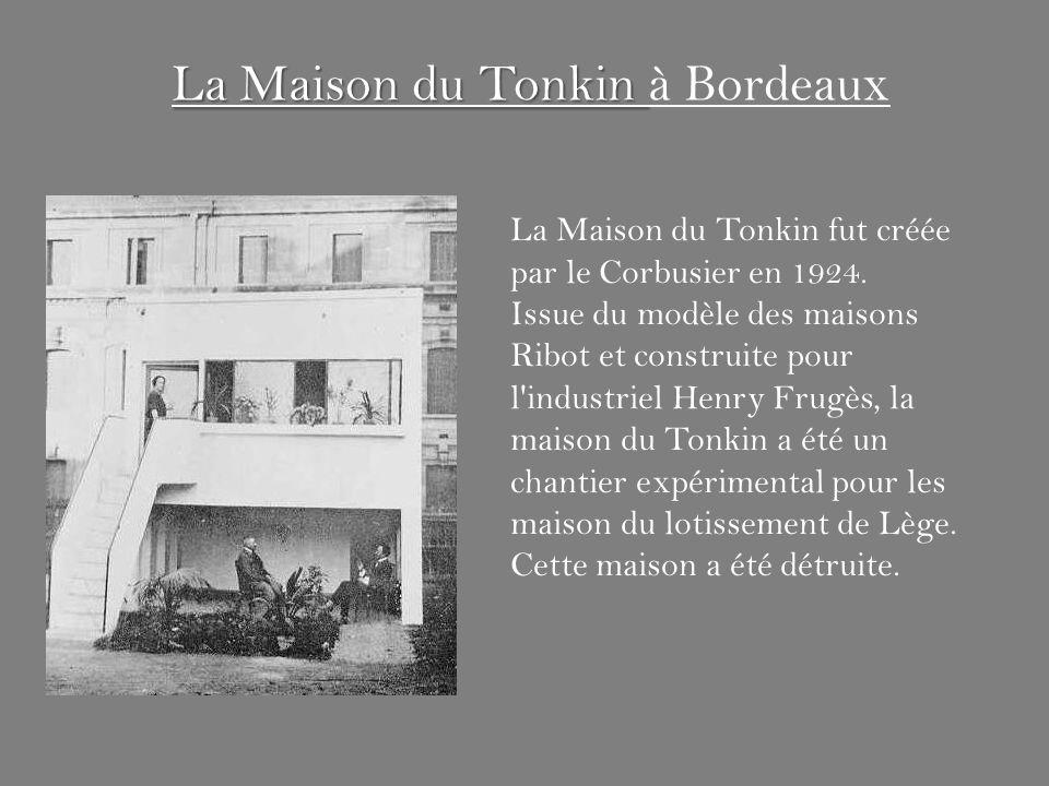 La Maison du Tonkin à Bordeaux