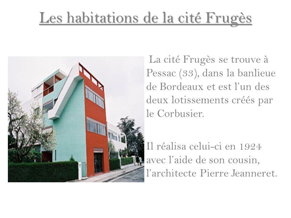 Les habitations de la cité Frugès