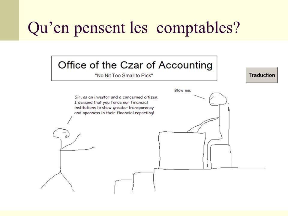 Qu'en pensent les comptables