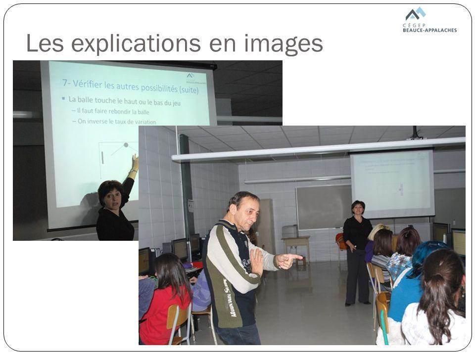 Les explications en images
