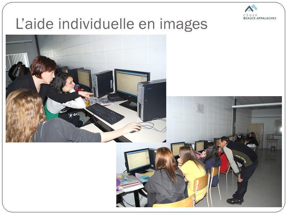 L'aide individuelle en images