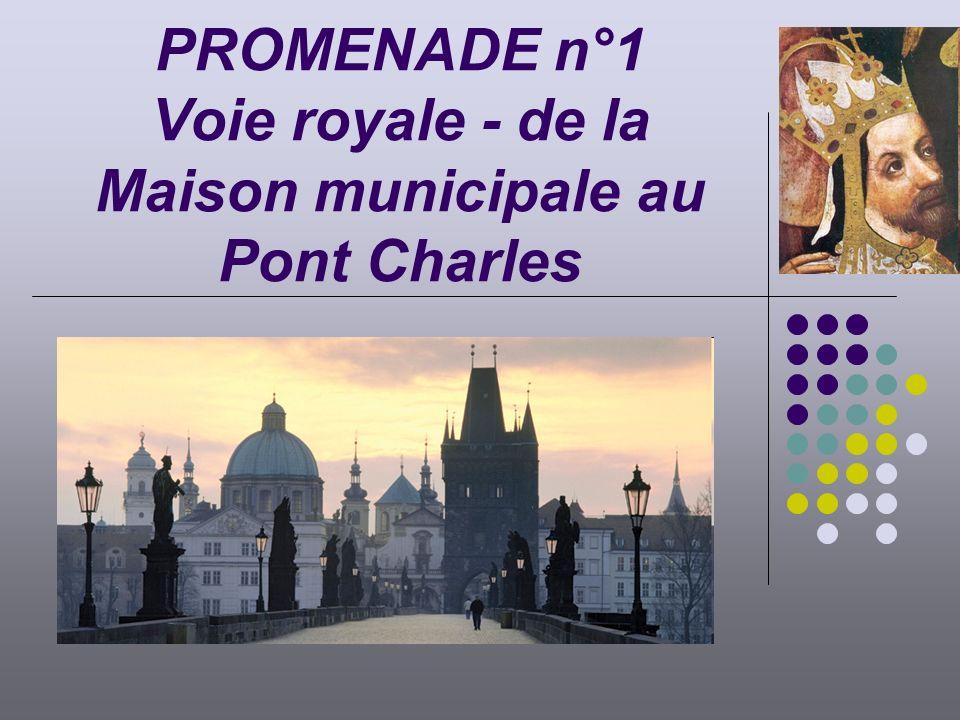 PROMENADE n°1 Voie royale - de la Maison municipale au Pont Charles