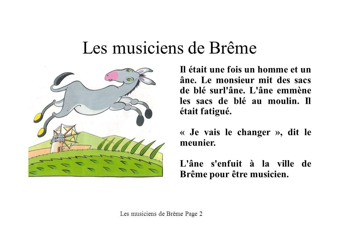 Les musiciens de Brême Page 2