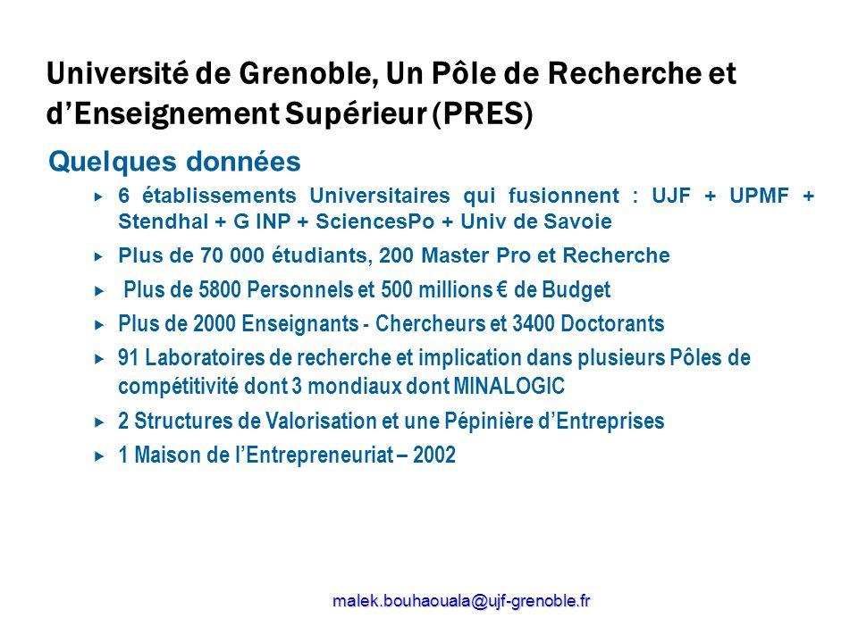 Université de Grenoble, Un Pôle de Recherche et d'Enseignement Supérieur (PRES)
