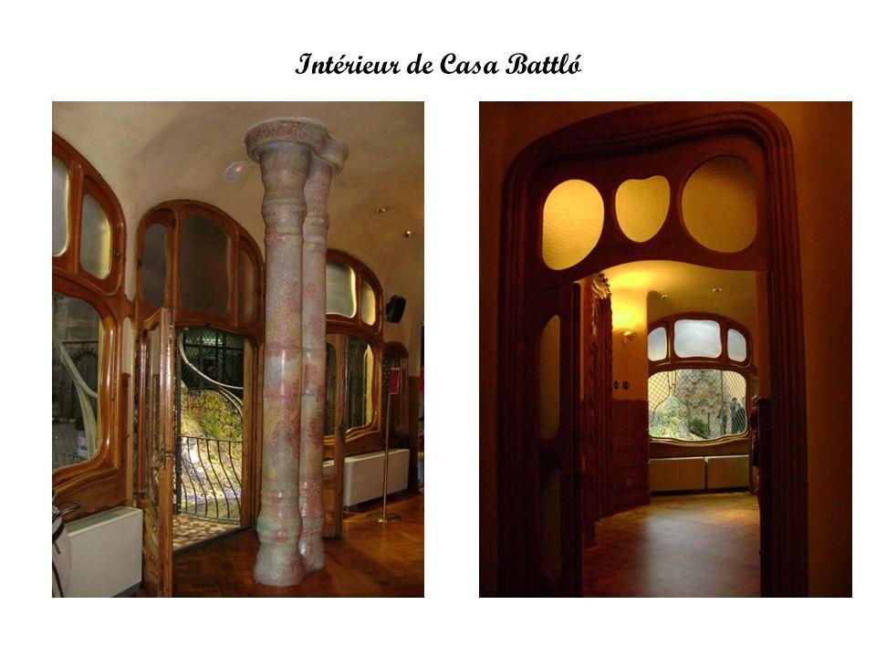Intérieur de Casa Battló
