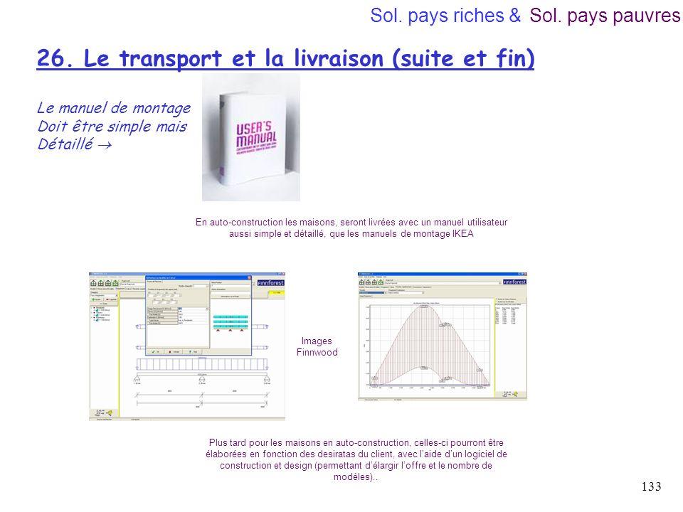 26. Le transport et la livraison (suite et fin)
