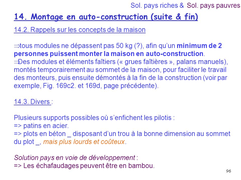 14. Montage en auto-construction (suite & fin)