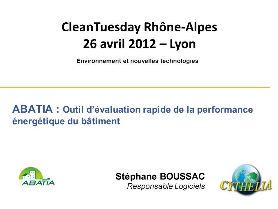 CleanTuesday Rhône-Alpes Environnement et nouvelles technologies