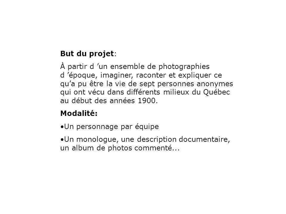 But du projet: