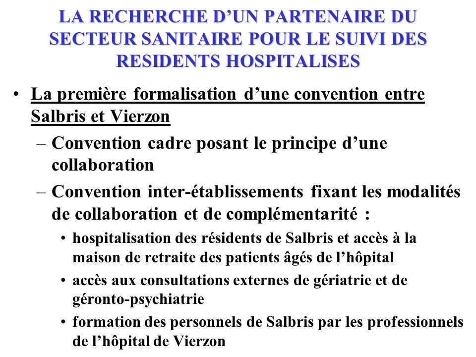 La première formalisation d'une convention entre Salbris et Vierzon