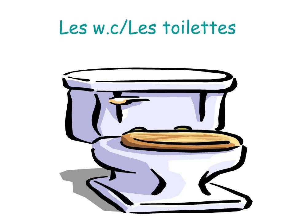 Les w.c/Les toilettes c Bernard-Gutermann