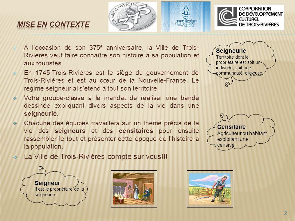 La Ville de Trois-Rivières compte sur vous!!!