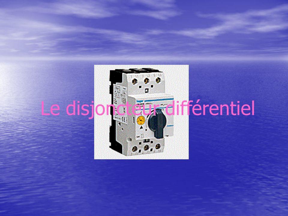 Le disjoncteur différentiel