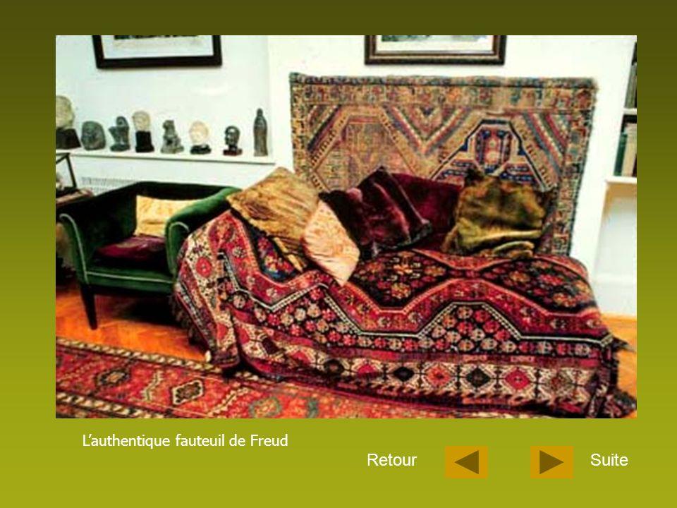 L'authentique fauteuil de Freud