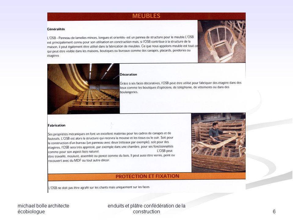 enduits et plâtre confédération de la construction