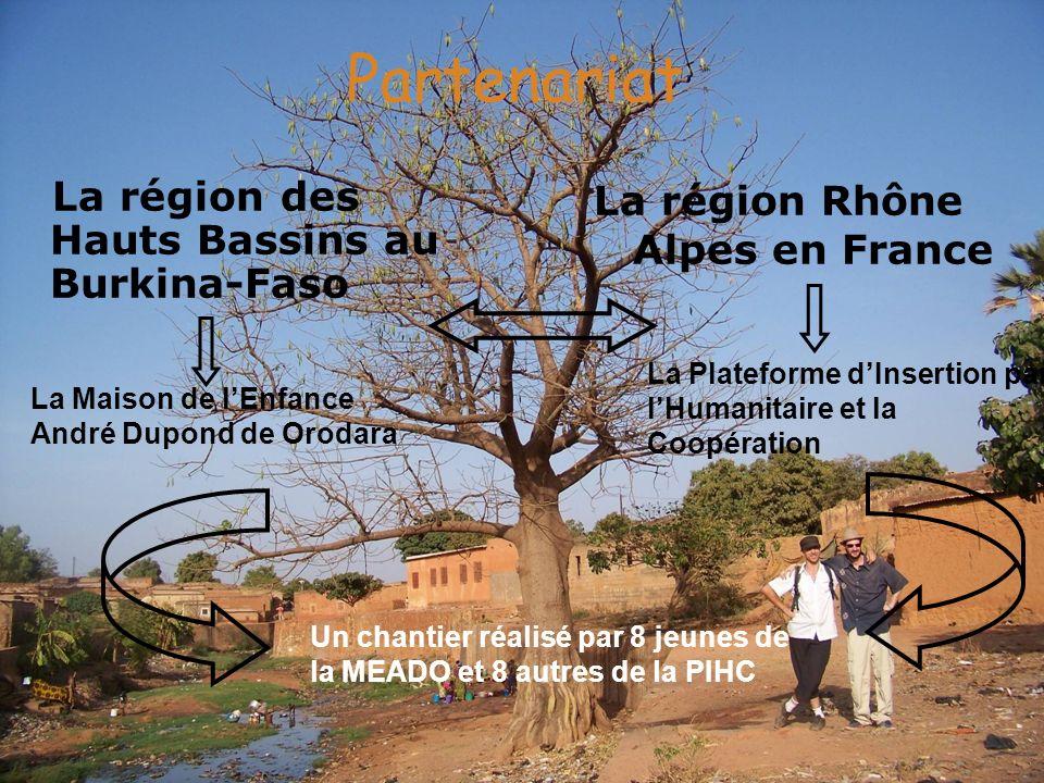 Partenariat La région des Hauts Bassins au Burkina-Faso