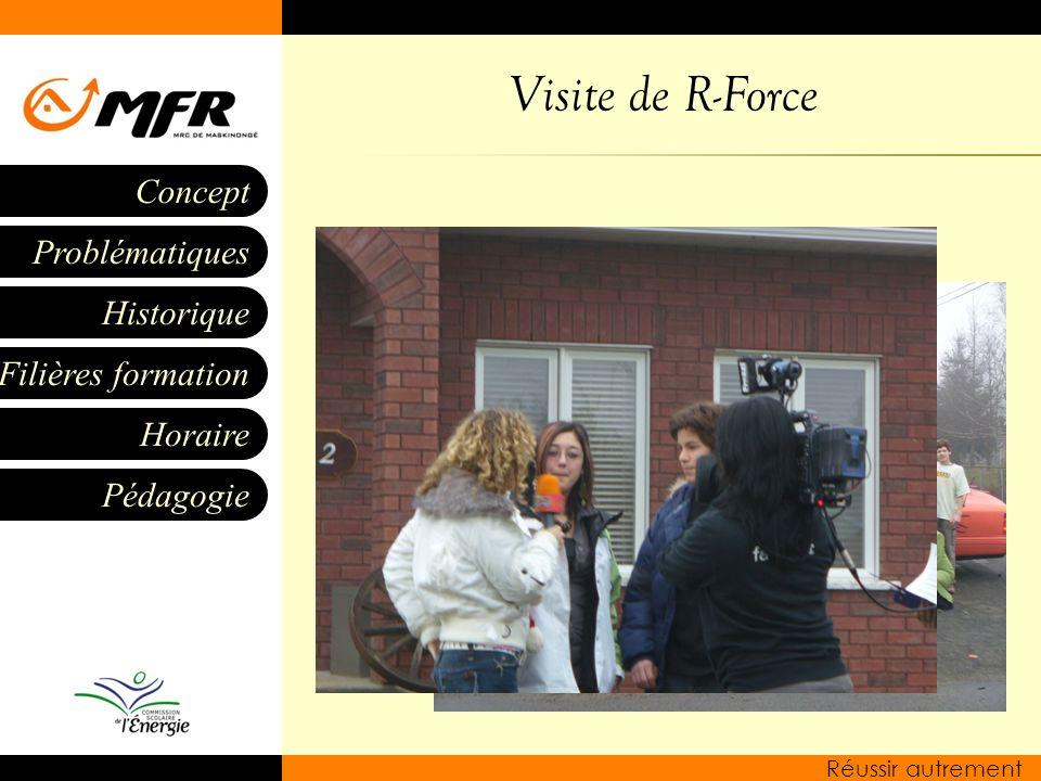 Visite de R-Force
