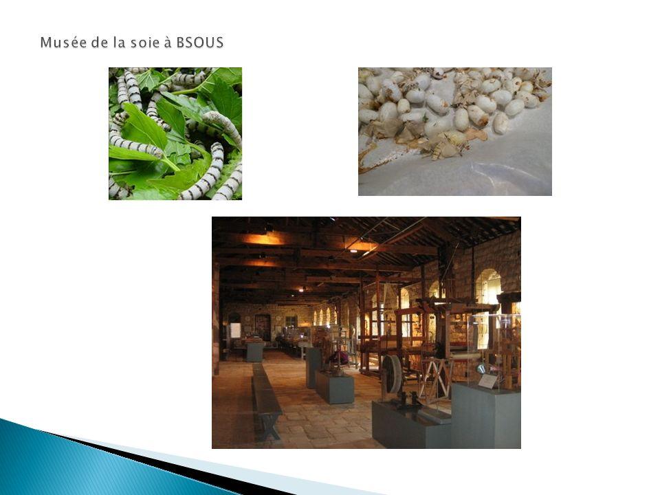 Musée de la soie à BSOUS