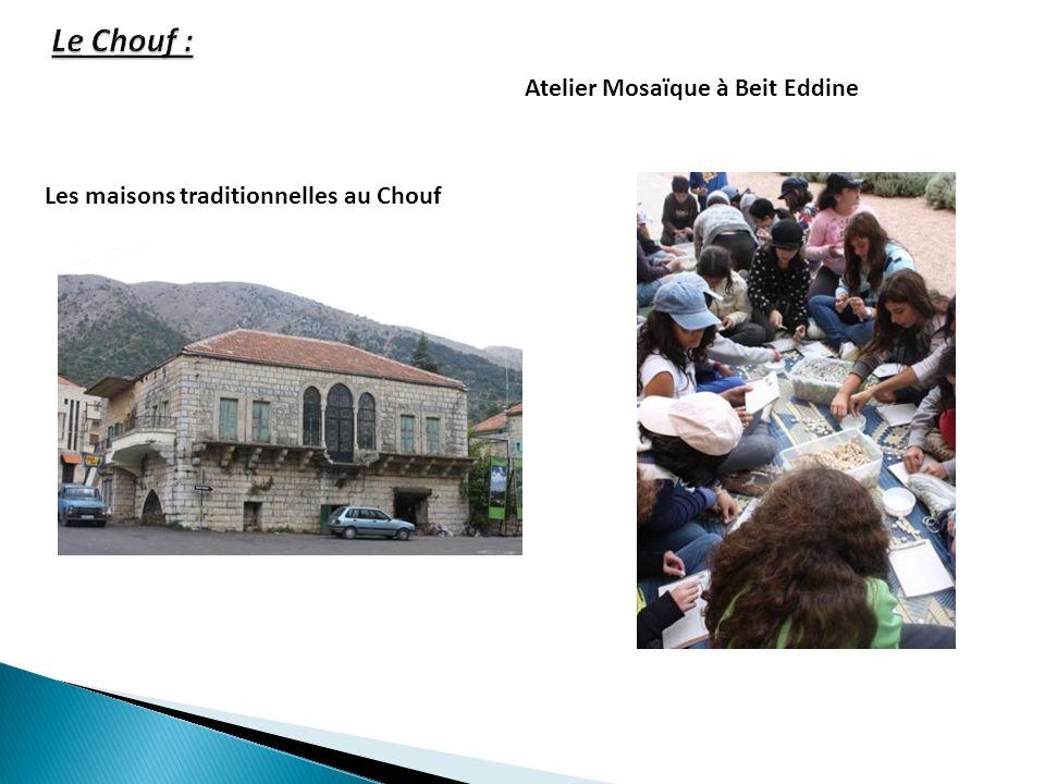 Les maisons traditionnelles au Chouf