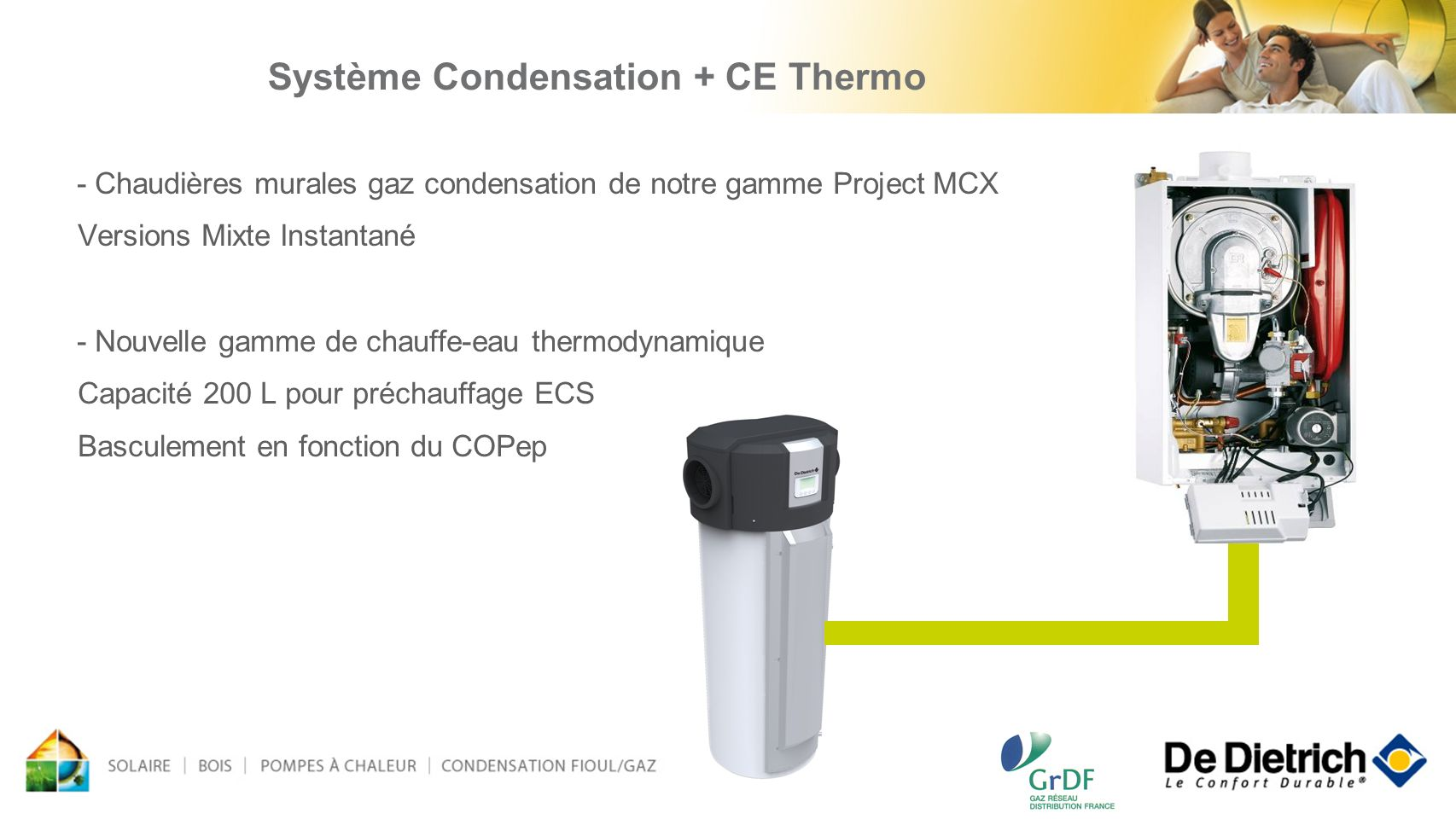 Système Condensation + CE Thermo