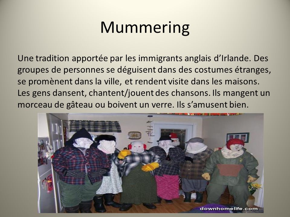 Mummering