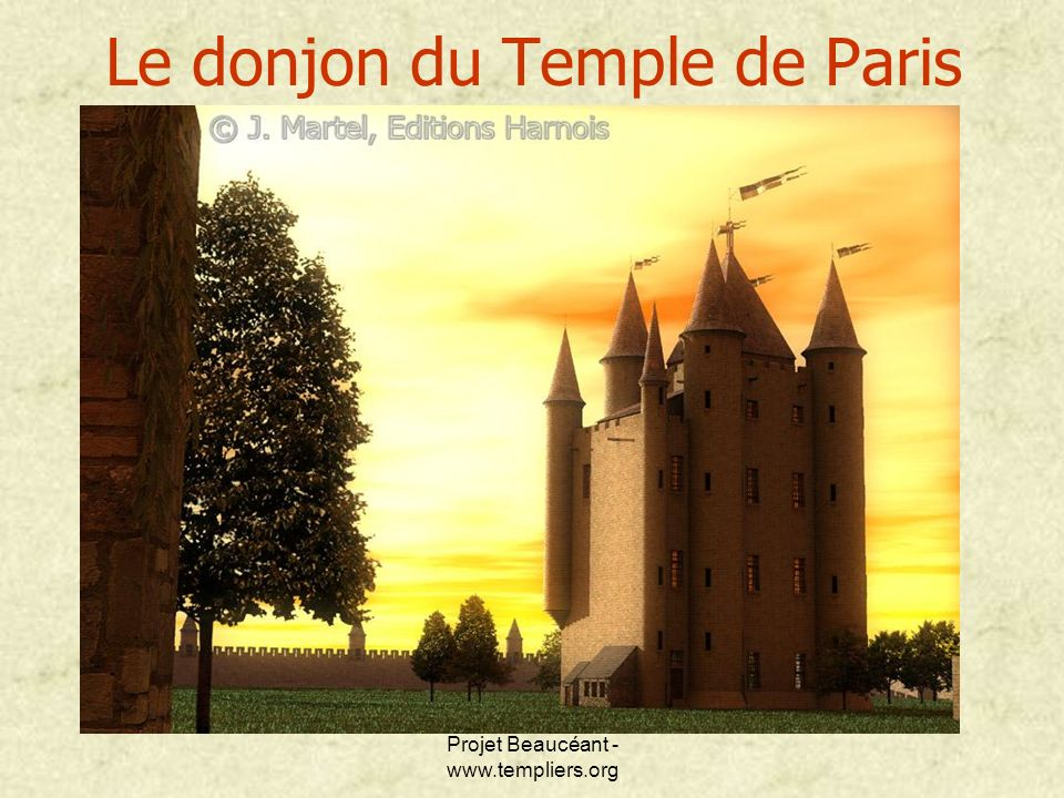 Le donjon du Temple de Paris