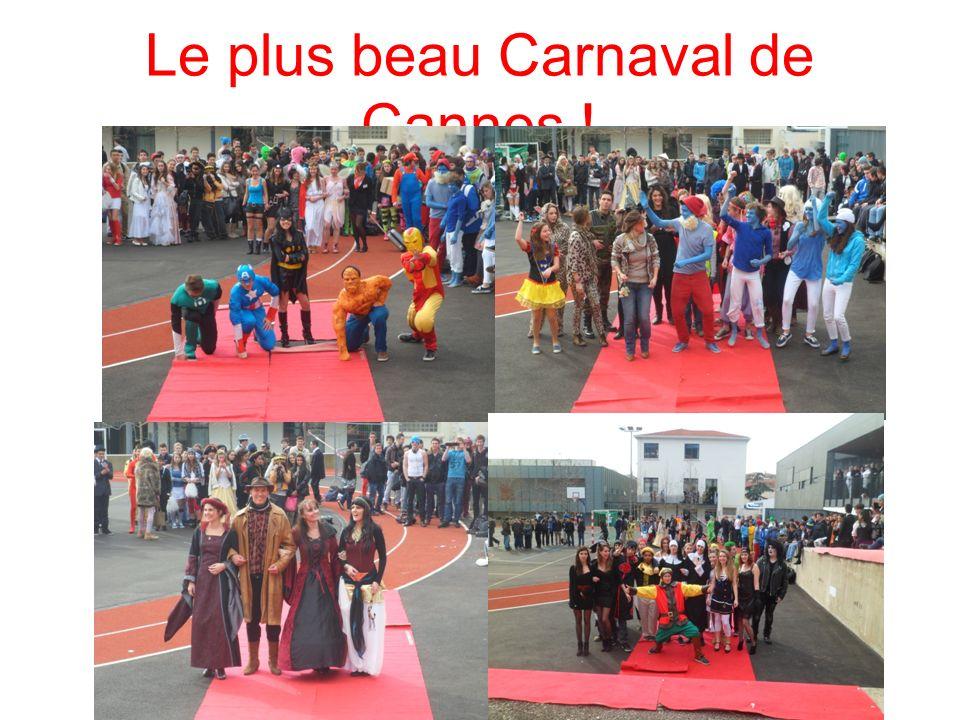 Le plus beau Carnaval de Cannes !