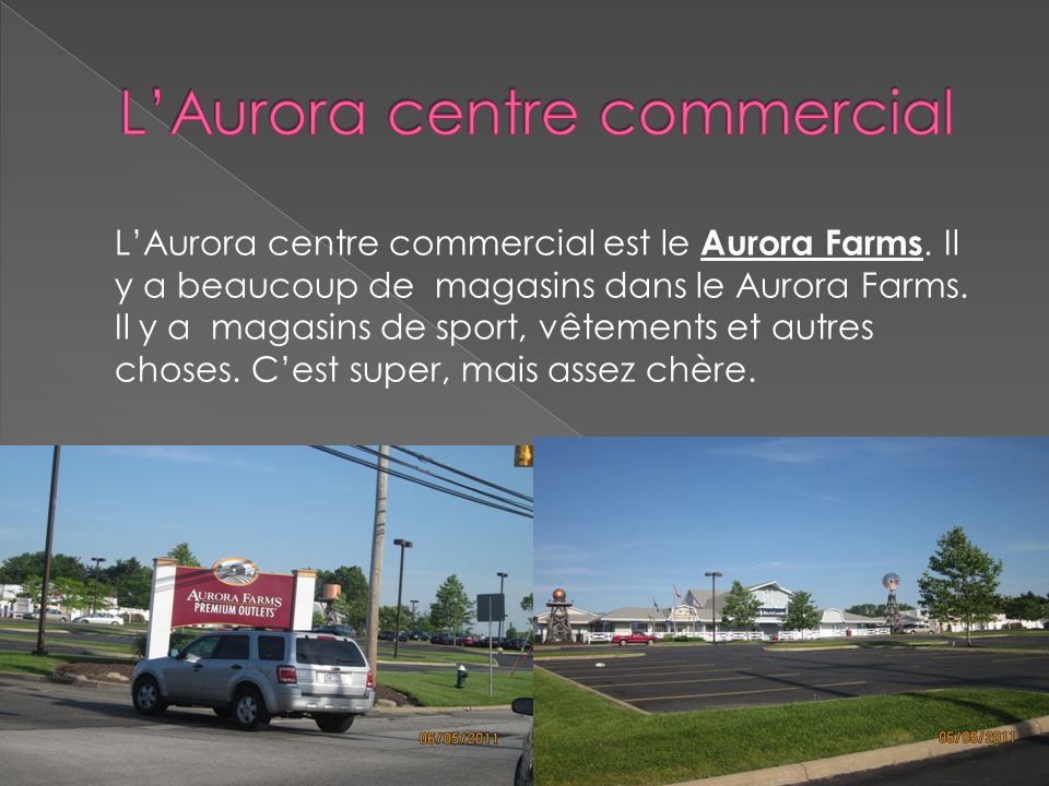 L'Aurora centre commercial