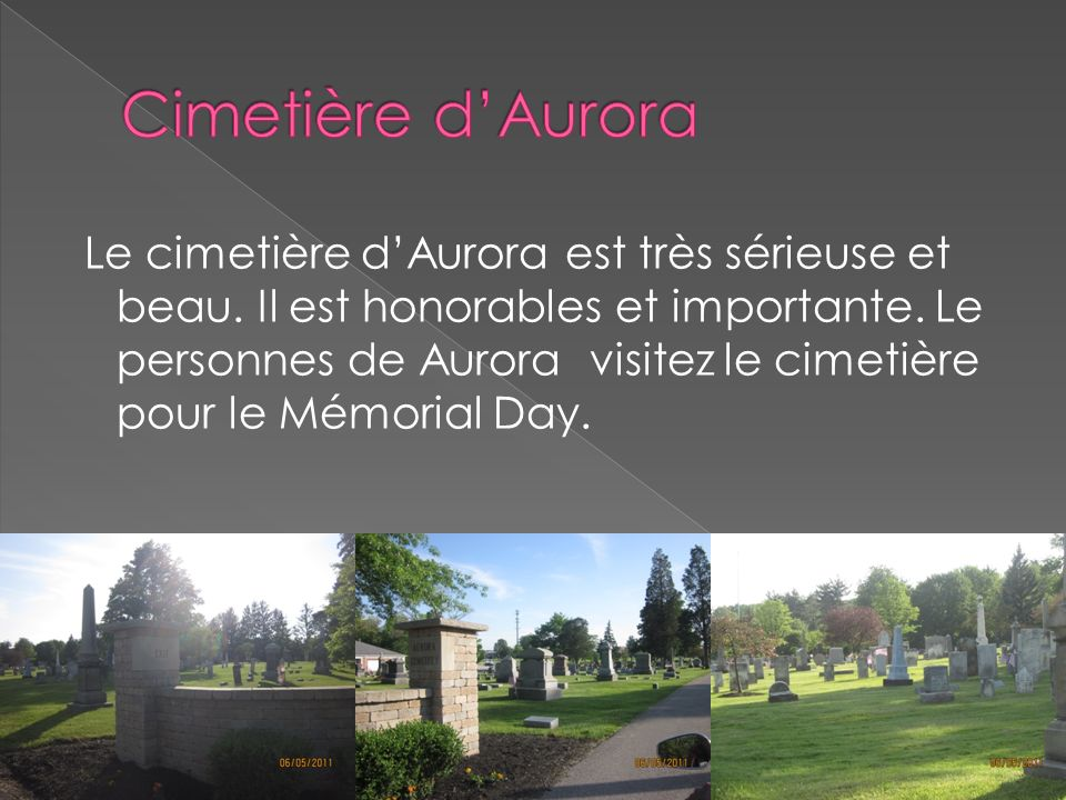 Cimetière d'Aurora