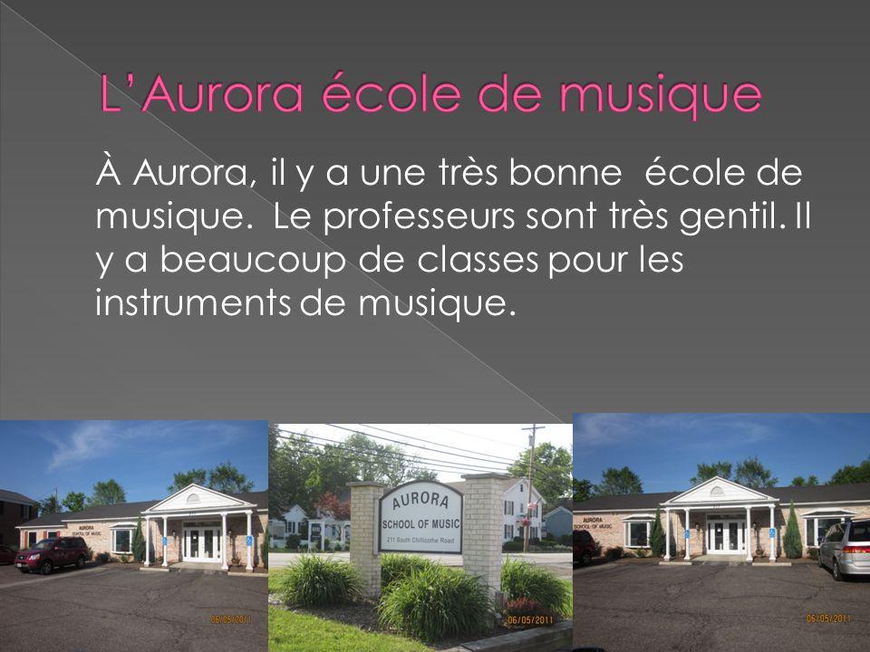 L'Aurora école de musique