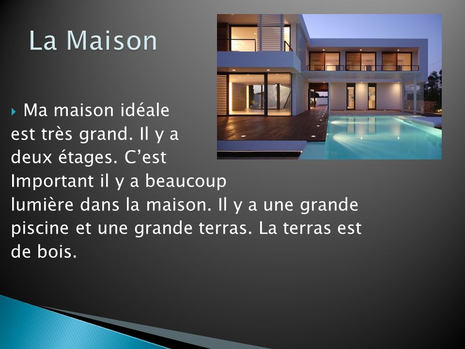 Ma maison id ale pieter sellies ppt video online t l charger - Maison ideale ...