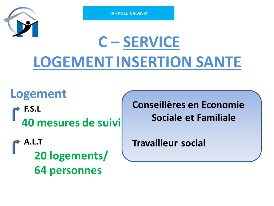 C – SERVICE LOGEMENT INSERTION SANTE