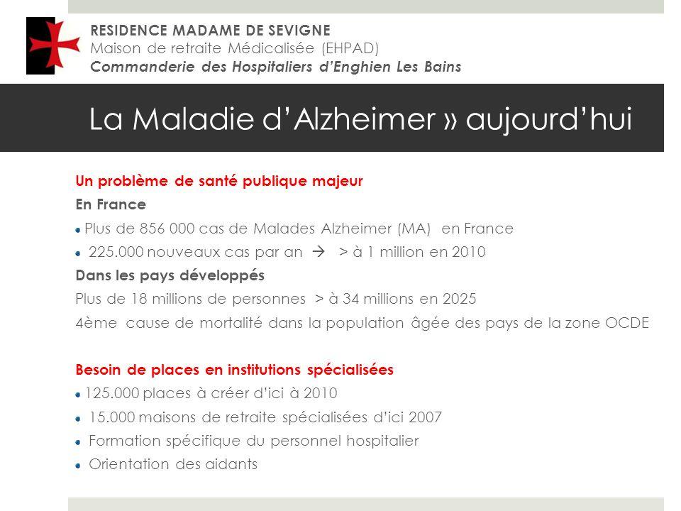 La Maladie d'Alzheimer » aujourd'hui