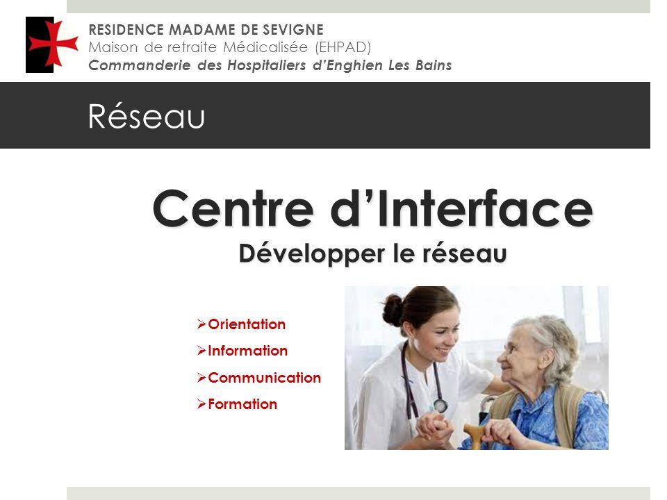Centre d'Interface Réseau Développer le réseau