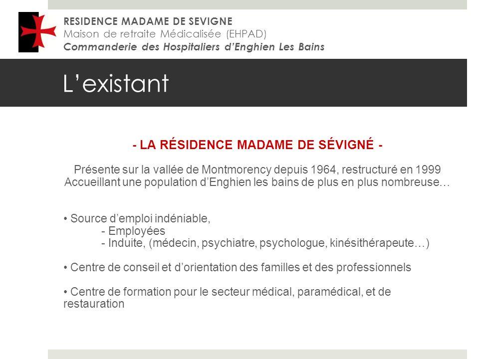 - LA RÉSIDENCE MADAME DE SÉVIGNÉ -