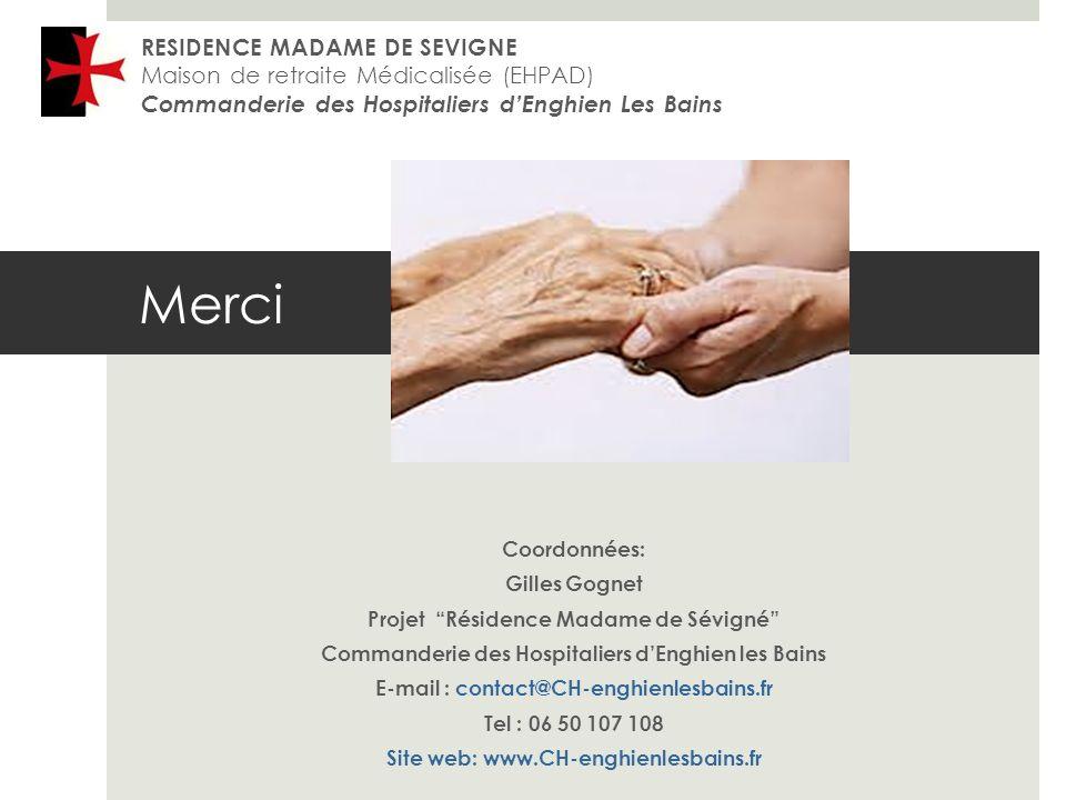 Merci RESIDENCE MADAME DE SEVIGNE