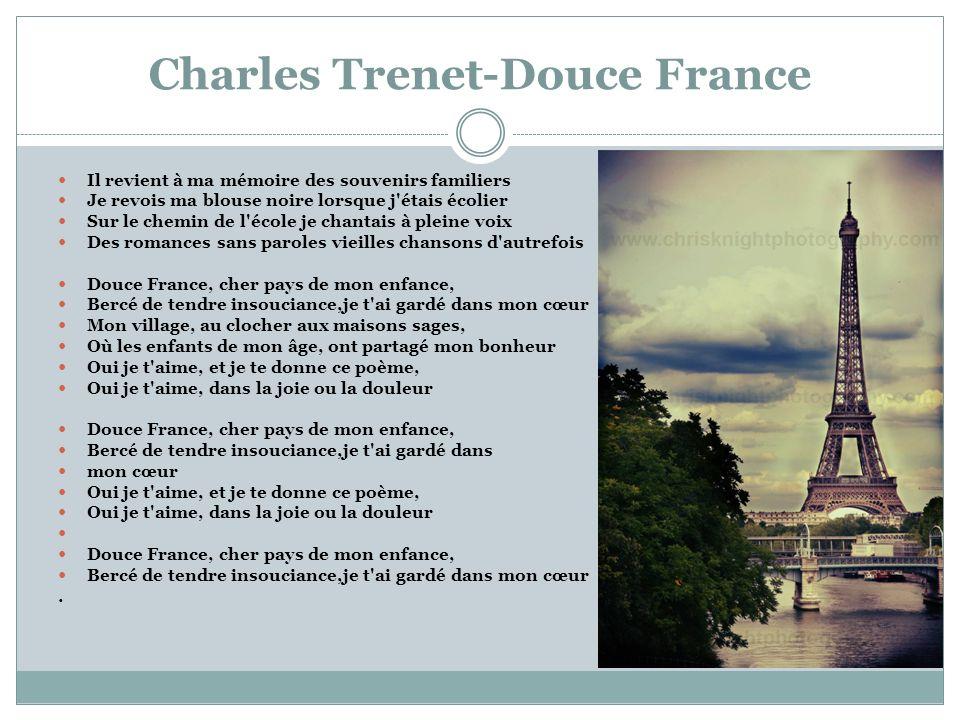 Charles Trenet-Douce France