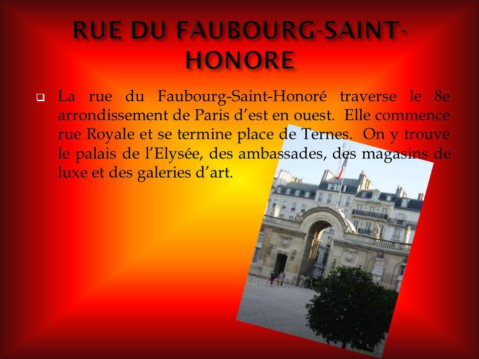 RUE DU FAUBOURG-SAINT-HONORE