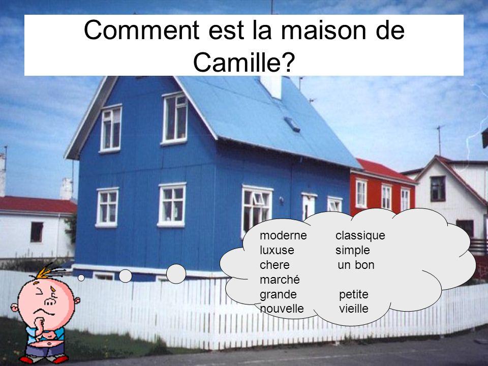 Comment est la maison de Camille