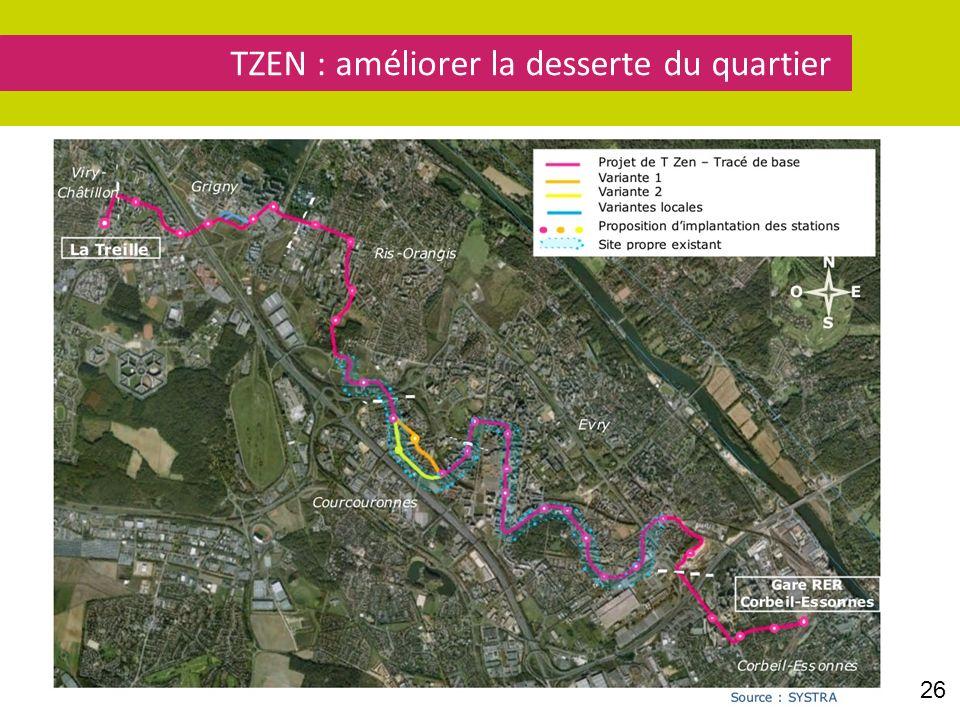 TZEN : améliorer la desserte du quartier