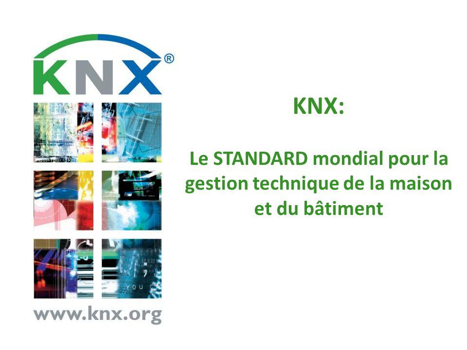KNX: Le STANDARD mondial pour la gestion technique de la maison et du bâtiment