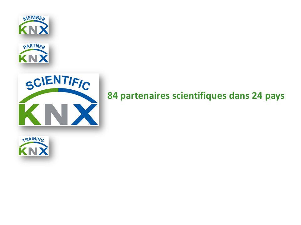 84 partenaires scientifiques dans 24 pays