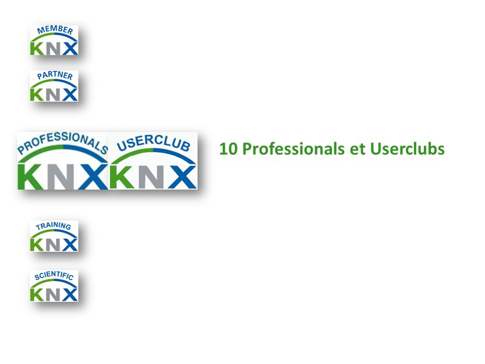 10 Professionals et Userclubs