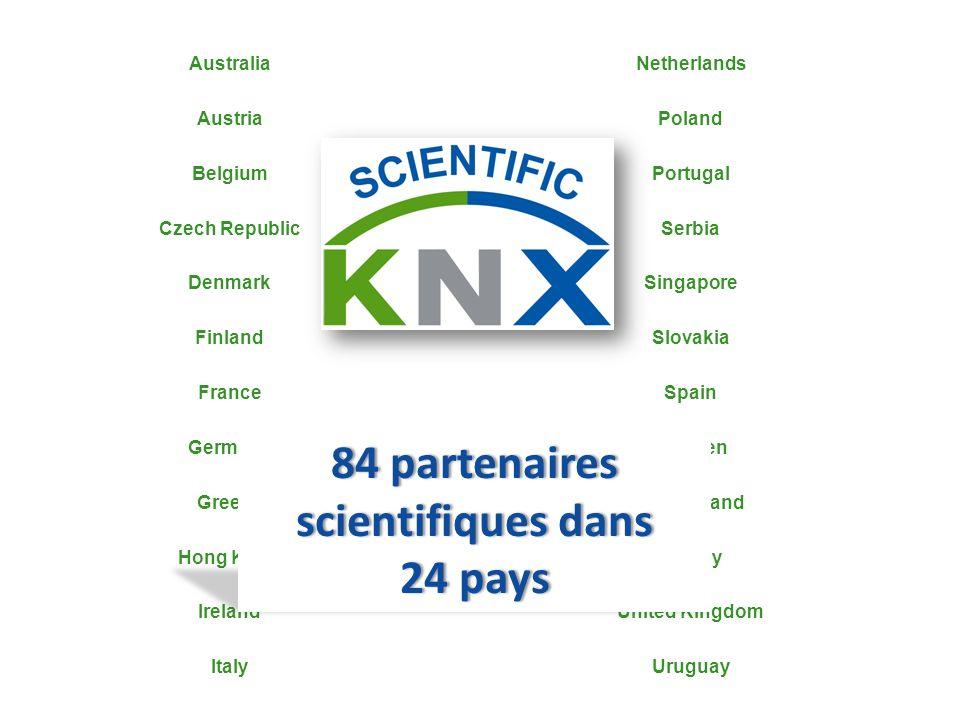 84 partenaires scientifiques dans
