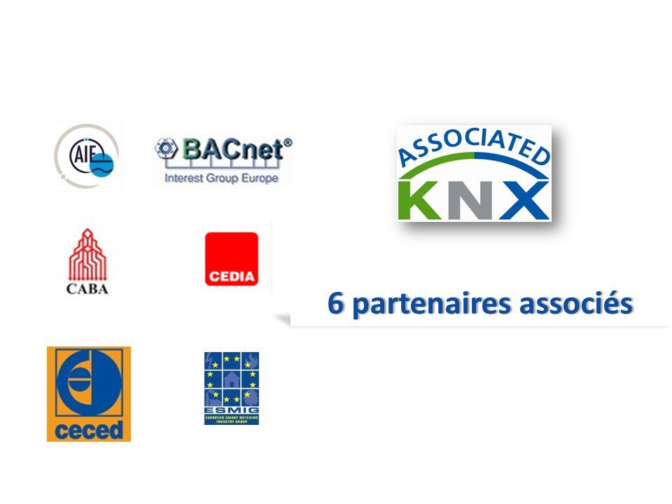 6 partenaires associés