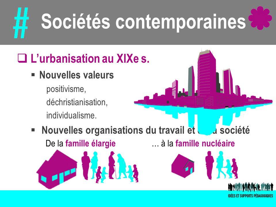 Sociétés contemporaines